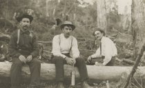 Image of Three Woodsmen - Print, Photographic