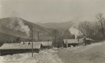 Image of Hauling Camp in Winter - Print, Photographic