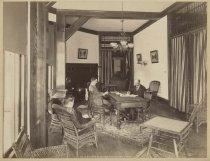 Image of 745. A Room in St. Hubert's Inn, Keene Valley. - Print, Albumen