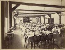 Image of 746. Dining Room  St. Hubert's Inn. - Print, Albumen