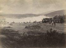 Image of 82. Upper Saranac Lake, Adirondacks. - Print, Albumen