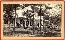 Image of Sherman House, Lake George. 1878. - Print, albumen
