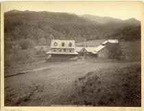 Image of Widow Beede's Cottage, Keene Valley, Adirondacks. - Print, albumen