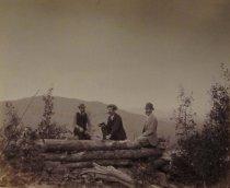 Image of Reuben Cary, J. Herbert Slocum & Gary Haight. - Print, Albumen