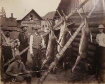 Image of Reuben, Jack Richards, Col. Franklin, Charles McAlpin & Ben McAlpin - Print, Albumen