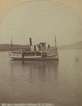 Image of 1076. Lake Champlain Steamer W. B. Eddy. - Print, albumen
