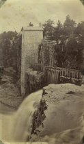 Image of [--]. Wheel House of Ausable Chasm Horse Nail Works. - Print, albumen