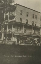 Image of Conifer Inn, Conifer, N.Y. - Print, Real Photo Postcard