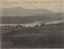 Image of [--]. Lake Placid. North from Stevens House. - Print, albumen