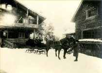 Image of [Winter, Sagamore Lodge] - Print, albumen