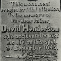 Image of Henderson Monument - Print, Photographic