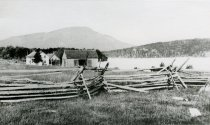 Image of [The] Adirondacks. Blue Mountain from Eagle's Nest. Old Home of Ned Buntline. Eagle Lake. - photo - copyprint; mounted