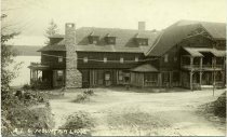 Image of A.L.C. Mountain Lodge - Print, gelatin silver