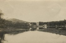 Image of Buildings on the Lake - Print, Photographic