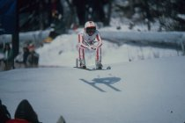 Image of [Women's Downhill - Ingrid Eberle - Austria - Finished 6th] - Transparency, Slide