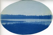 Image of [Untitled: Lake] - Print, cyanotype