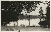 Image of Drive and Lake, Star Lake NY - Print, Real Photo Postcard