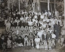 Image of Whole Camp Family - Print, Gelatin Silver
