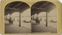 Image of Paul Smith's Boathouse - Stereoview