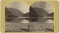 Image of Lower Ausable Lake and Mt. Colvin - Stereoview