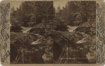 Image of Crystal Cascade - Stereoview
