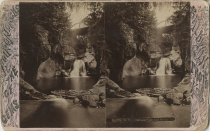 Image of Clifford Falls and Basin - Stereoview