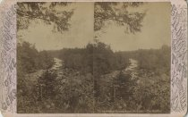 Image of Upper Saranac Lake Outlet - Stereoview
