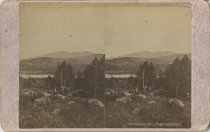 Image of Ampersand Mountain from Bartlett's - Stereoview