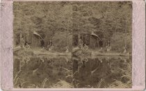 Image of Men with Boats - Stereoview
