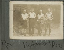Image of Reverend Ryder & Party - Print, Photographic