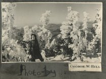 Image of Woman on a Mountain - Print, Photographic