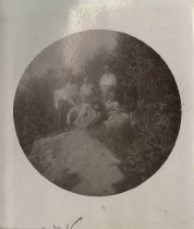 Image of Rev. and Mrs. Radcliffe, Mr. and Mrs. Roberson, Mr. Little, and Others - Print, Photographic