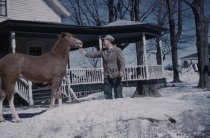 Image of Bob Daby and Horse - Transparency, Slide