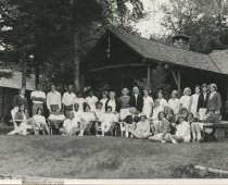 Image of Group Portrait of Counselors and Staff  - Print, Photographic