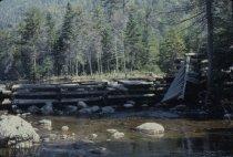 Image of Lake Colden Dam - Transparency, Slide