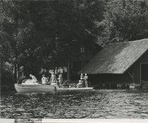 Image of Preparing to Water Ski  - Print, Photographic