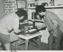 Image of Working with the Kiln - Print, Photographic