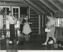 Image of Preparing for a Play - Print, Photographic