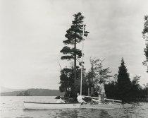 Image of Working on the Catamaran  - Print, Photographic