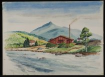 Image of Untitled: Noonmark From Keene Valley - Painting