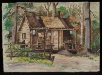 Image of Forest Observer's Hut, Vanderwhacker Mt. - Painting