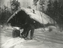 Image of Preparing to Snowshoe - Print, Photographic