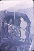 Image of Working on a Mine Shaft - Transparency, Slide