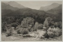 Image of Valley of the Boquet River Looking North to New Russia - Painting