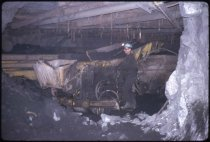 Image of Working in a Mine - Transparency, Slide