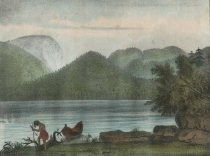 Image of View of Indian Pass, From Lake Henderson - Print