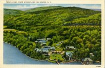 Image of Higby Camp, From Hydroplane, Big Mose, N.Y.  - Postcard