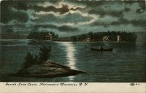 Image of Fourth Lake Chain, Adirondack Mountains, N.Y.  - Postcard