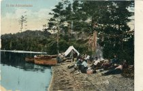 Image of In the Adirondacks - Postcard