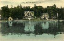 Image of Camp Neodak, 4th Lake, N.Y.  - Postcard